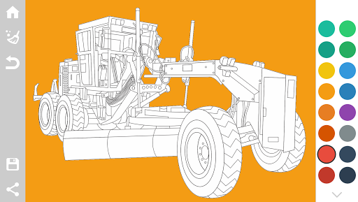Tractors Coloring Pages Game 1.6 screenshots 4