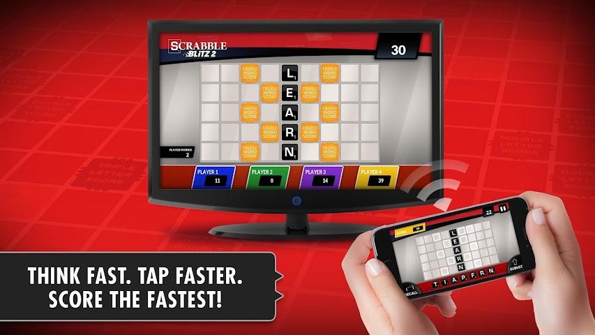 android SCRABBLE Blitz 2 Big Screen Screenshot 1