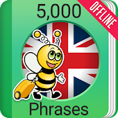 Learn English Phrasebook - 5000 Phrases
