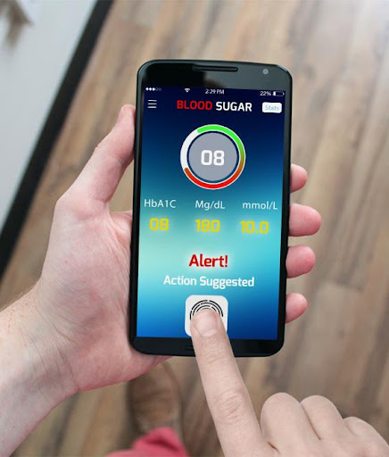 Blood Sugar Tracker: Finger!  screenshots 2