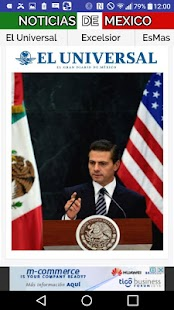 NOTIMEXICO Noticias de Mexico- screenshot thumbnail