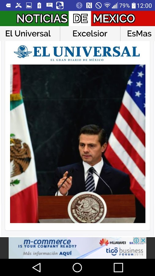 NOTIMEXICO Noticias de Mexico- screenshot