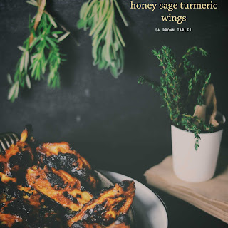 Honey Sage Turmeric Wings
