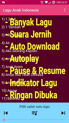 Lagu Anak Indonesia Terpopuler 1.0 screenshots 1