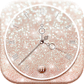Reloj Fondo de Pantalla Brillo icon