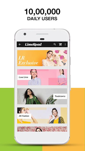 LimeRoad Online Shopping App 5.6.7 screenshots 2