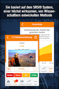 Spanisch Lernen mit MosaLingua Screenshot
