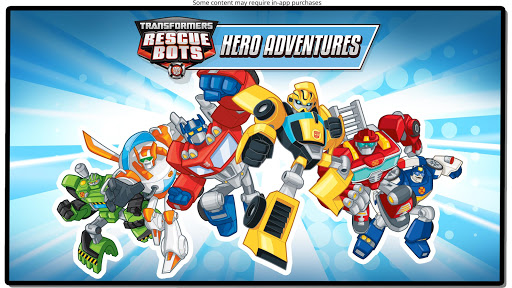 Transformers Rescue Bots: Hero Adventures - screenshot