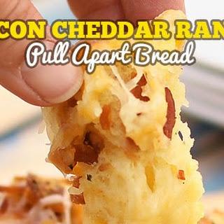 Bacon Cheddar Ranch Pull Apart Bread.