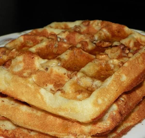 Pecan Waffles - Sugar Free Recipe