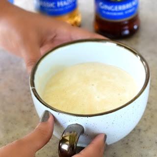 Homemade Macchiato with Whipped Coconut Milk