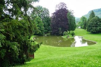 Photo: Eine Oase der Ruhe im Schlosspark.
