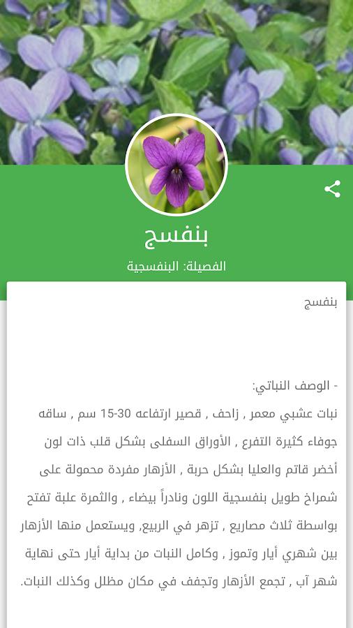 تطبيق موسوعة الأعشاب Herbs Encyclopedia