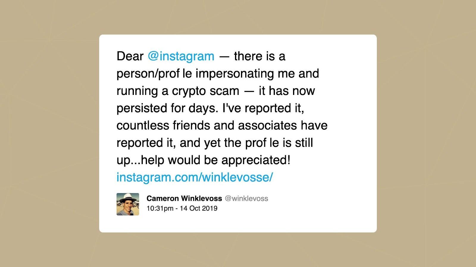 , ¡Cuidado cuando estés en Instagram! Los criptoestafadores están rondando esa red social, Criptomonedas e ICOs, Criptomonedas e ICOs