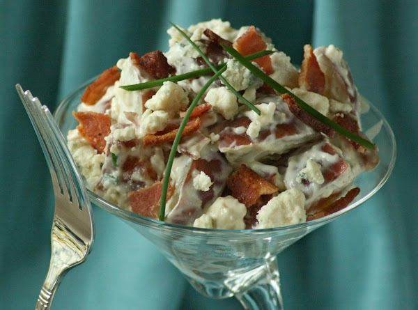 Bleu Moon Potato Salad With Bacon And Chives Recipe