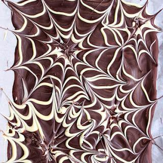 Spider Web Chocolate Bark Recipe