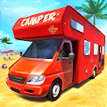 Real Camper Van Driving Simulator - Beach Resort APK