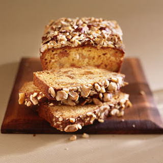 Hazelnut-Fig Quick Bread