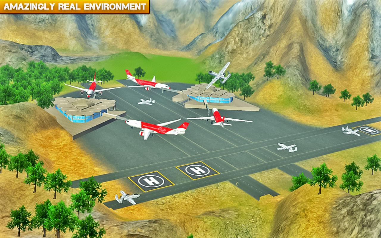 ✈️ Fly Real War jet Airplane- screenshot