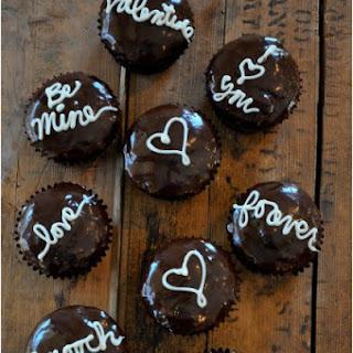 Valentine Love Letter Cupcakes