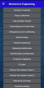 Mechanical Engineering (GATE, RRB JE, SSC, ESE,) 2.6 Download Mod Apk 2