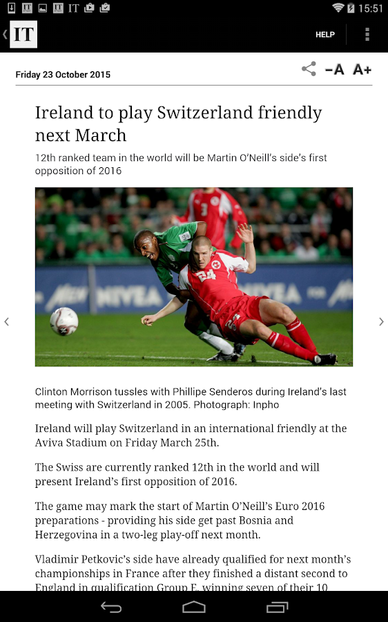 Irish Times ePaper- screenshot