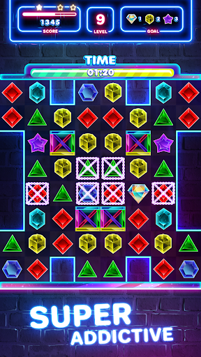 Jewels Quest 2 - Glowing Match 3 1.0.0 screenshots 15