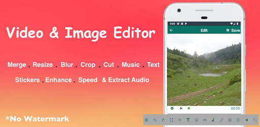 Media Editor Resize,Speed,Text,Crop,Blur,Cut,Music - by
