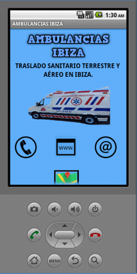 Ambulancias Ibiza- screenshot