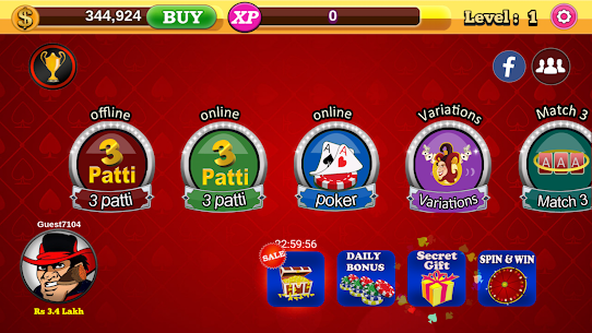 Teen Patti Royal (Online & Offline) App Latest Version  Download For Android 5