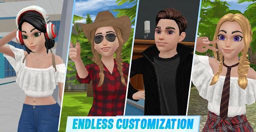 Virtual Sim Story screenshot 1