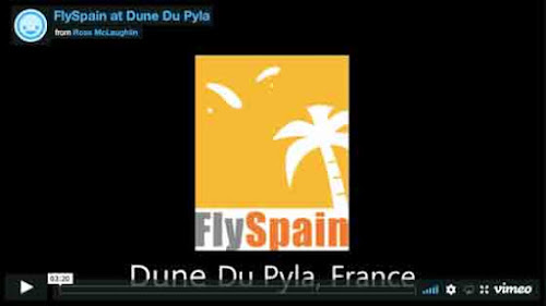 FlySpain at Dune Du Pyla