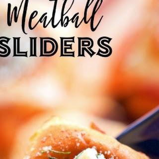 Meatball Sliders {Football Friday}