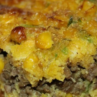Ground Beef/Jalapeno Cornbread Casserole Recipe