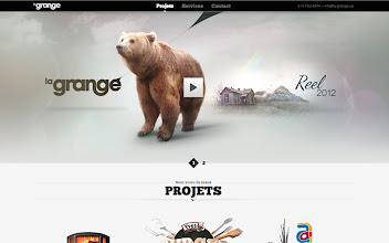 Photo: Site of the Day 17 November 2012 http://www.awwwards.com/web-design-awards/la-grange