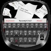 Black Typewriter Keyboard Android APK Download Free By Best Keyboard Theme Design
