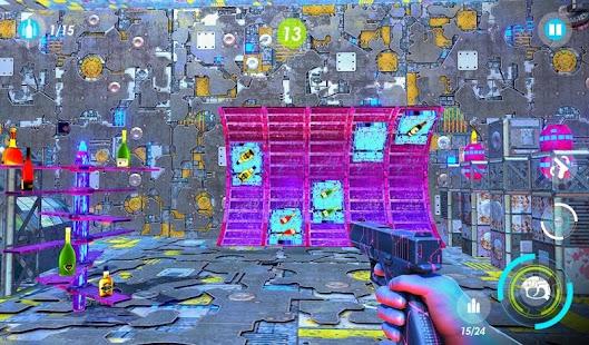 Bottle Smash Hit: Ultimate Sci-Fi Laser Shooting - náhled