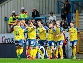 Waasland-Beveren heeft met 2-4 gewonnen op het veld van Moeskroen