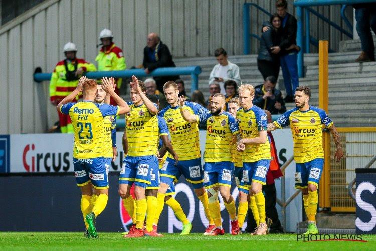 Waasland-Beveren wint van Moeskroen na aangename wedstrijd