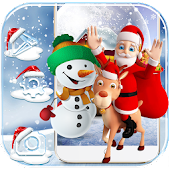 Christmas Theme Wallpaper 2017 Snow