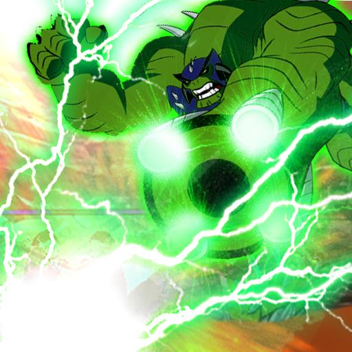 Alien Ultimate Ben - Ultimate Humangosaur Power