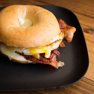 Bagel Breakfast Sandwich Recipes.