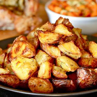 Ultra Crispy Potatoes.
