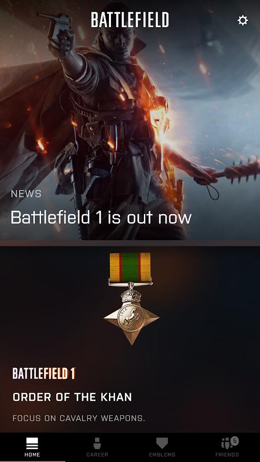 Screenshots of Battlelog for iPhone