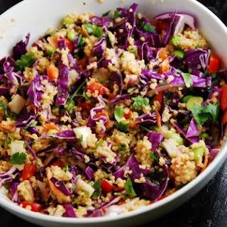 Crunchy Thai Quinoa Salad Recipe