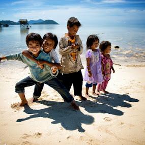 The Innocence of Children by Siew Jun Han - Babies & Children Children Candids