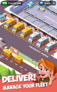 Idle Courier Tycoon Mod Apk (Unlimited Money) 1.4.0 7