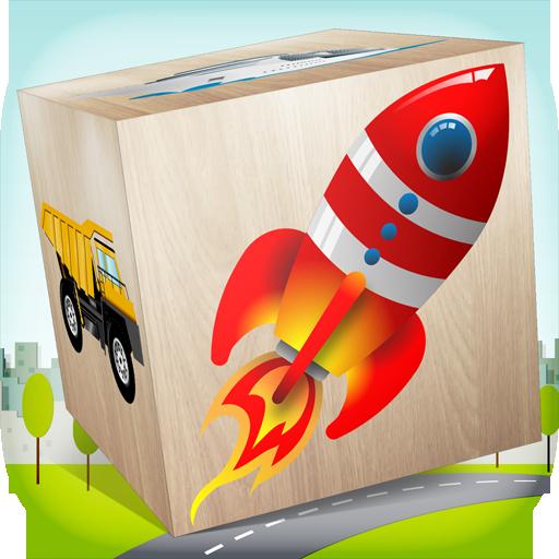 Cars Blocks game for kids
