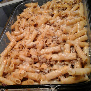 Cheesy Taco Cream Cheese Pasta.