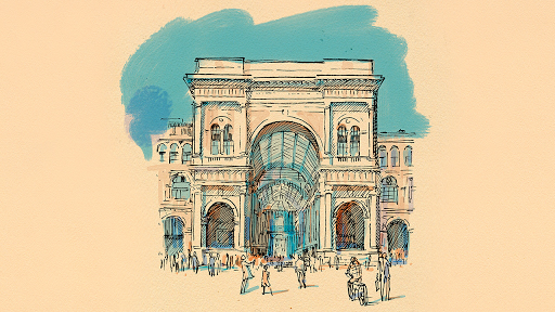 Милан. Аудиогид с альбомом